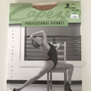 Capezio Professional Fishnet Dance Tights